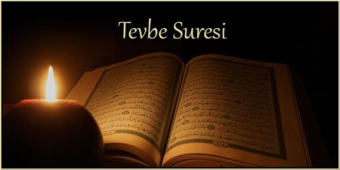 Tevbe Suresi