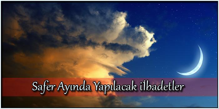 Safer Ayında Yapılacak ibadetler - Cübbeli Ahmet Hoca