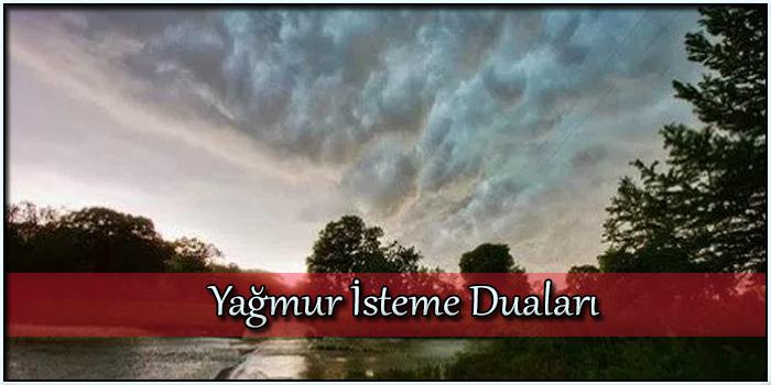 Yağmur İsteme Duaları