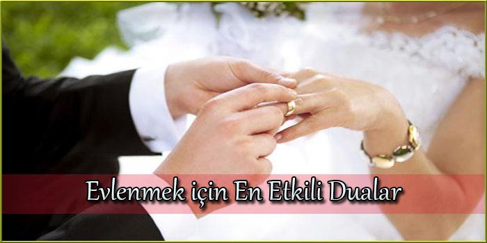 Evlenmek için En Etkili Dualar