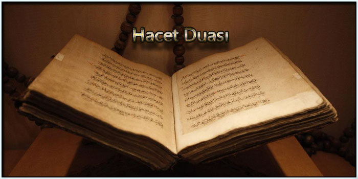 Hacet Duası