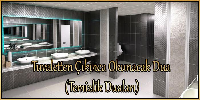 Tuvaletten Çıkınca Okunacak Dua