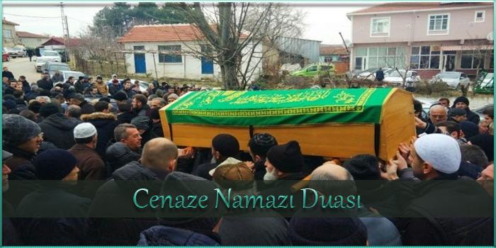 Cenaze Namazı Duası