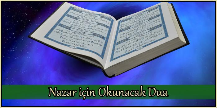 Nazar için Okunacak Dua