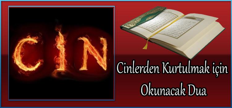 Cinlerden Kurtulmak için Okunacak Dua