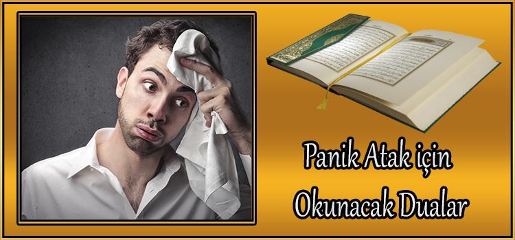 Panik Atak İçin Okunacak Dualar