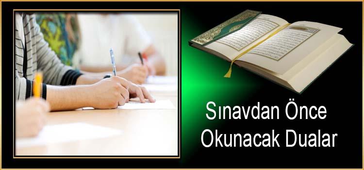 Sınavdan Önce Okunacak Dualar