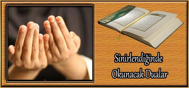 Sinirlendiğinde Okunacak Dualar