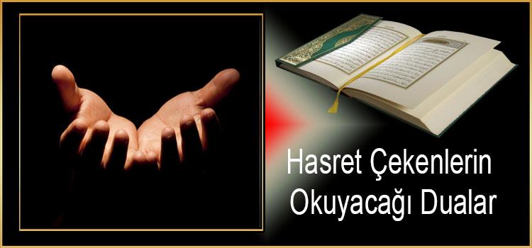 Hasret Çekenlerin Okuyacağı Dualar